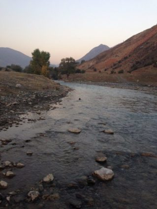 The Mailuu Suu River (Source: Ryskeldi Satke/Courtesy of The Diplomat).