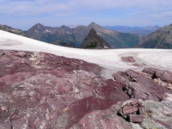 Sperry Glacier, 2009 (Source: Lee Coursey/Flickr).