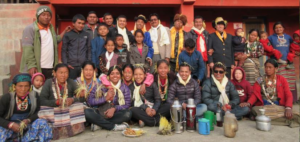 Picture of Bhote Khampas in Bajura, Nepal celebrating Lhosar 2016 (Source: Pasang Sherpa)