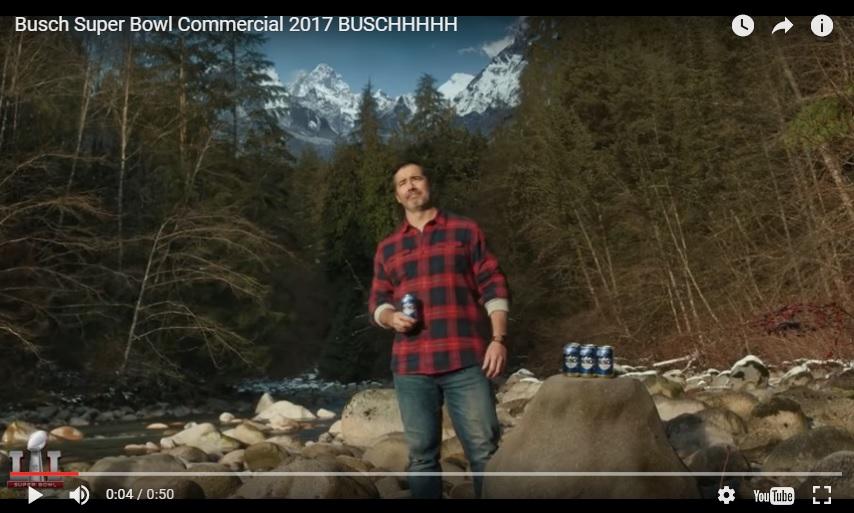 busch superbowl ad