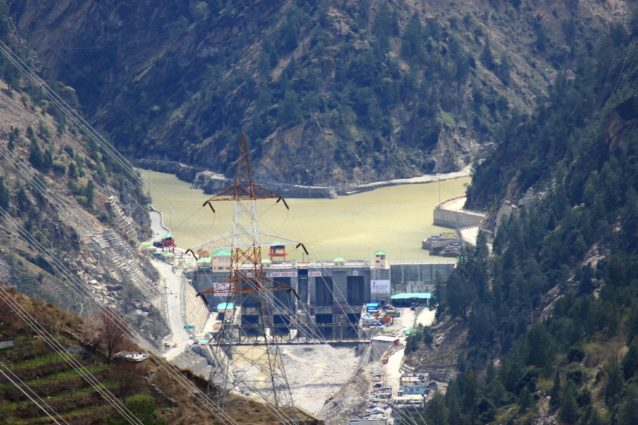 Karcham Wangtoo Hydroelectric Plant in Kinnaur (Source: Sumit Mahar/Creative Commons).