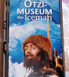 Flyer from the Otzi-Museum (source: Creative Commons).