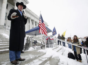 Ryan Zinke speaking in Montana (Source: Tony Llama/Flickr).