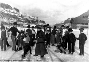 Winter Tourism, 1900-1910 - Mediatheque Valais
