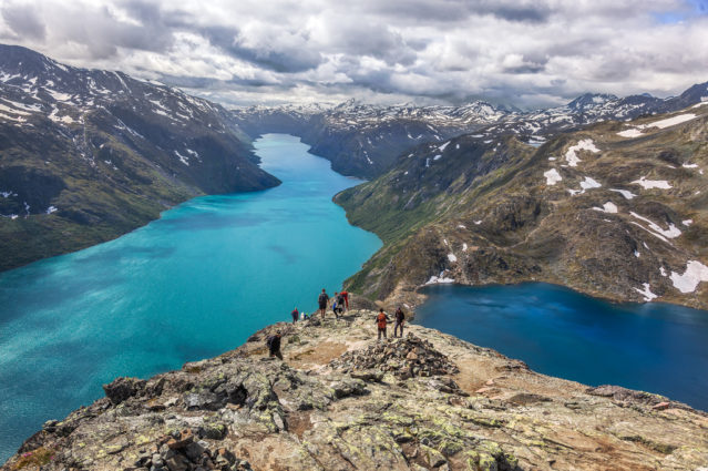 Besseggen Ridge, running along a glacier-carved valley, is one of the most popular hiking trails in Norway (Source: Espen Faugstad / Creative Commons)