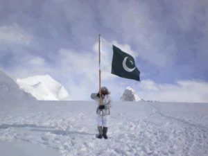 The Siachen Glacier in Northern Kashmir has been a site of conflict since 1984 (Source: junaidrao / Creative Commons).