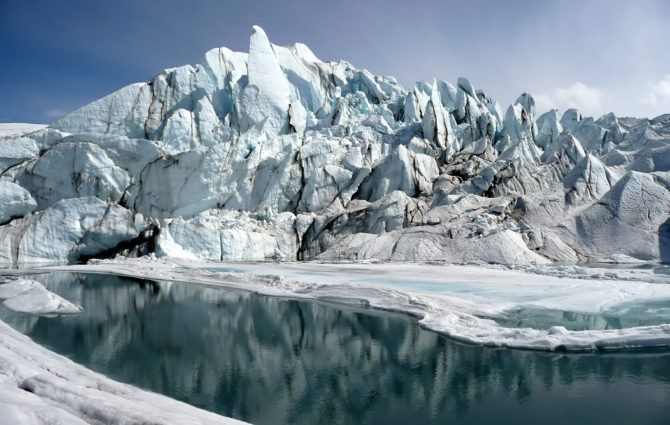 Matanuska Glacier terminus (Source: Sbork/Creative Commons).