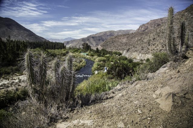 Photo of the Elqui River