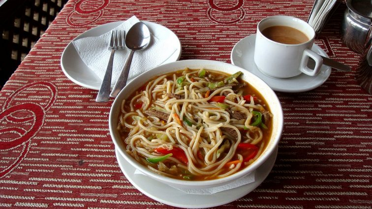 Photo of Tibetan Thukpa noodle soup