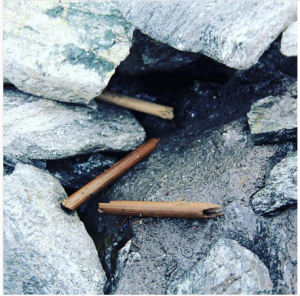 A broken arrow discovered in the field site that is about 2700 years old (Source: Lars Pilø/Instagram)