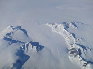 Aerial Photo of Antartica