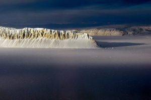Photo of Eureka Sound on Ellesmere Island