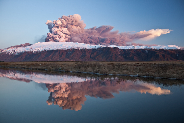 Eyjafjallajökull glacier volcano. (Source:N-b pictures/Flickr)