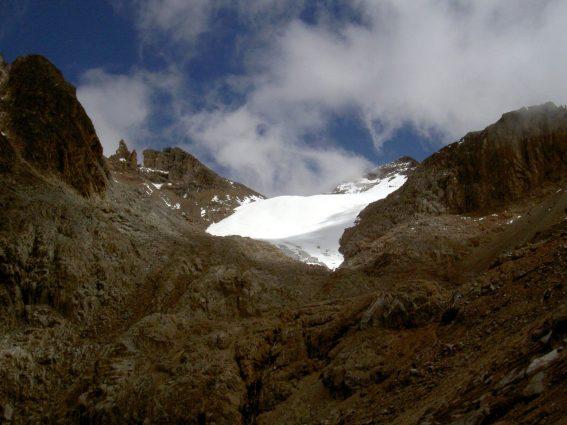 Mount Kenya's Lewis Glacier