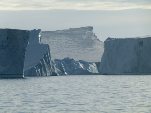 Photo of the Pine Island glacier