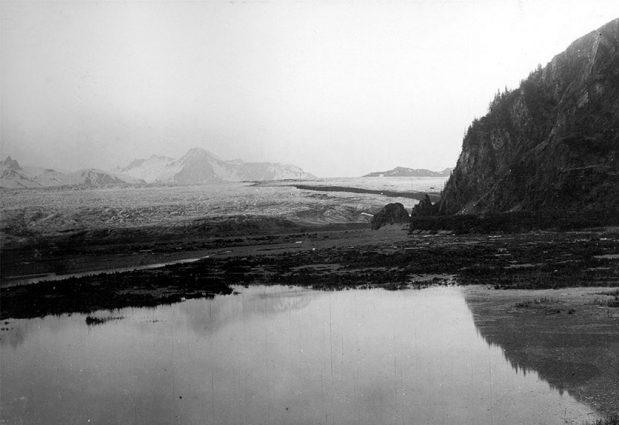 Alaska Range, Bear Glacier on GlacierHub