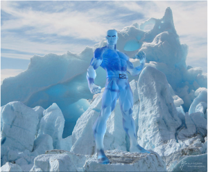 Marvel's Iceman on GlacierHub