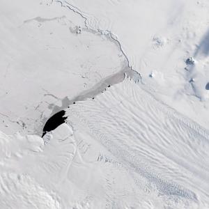 Pine Island Glacier from Landsat