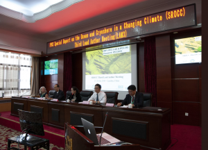 IPCC Speakers in China Ko Barrett Yun Gao Weihua He Shichang Kang Panmao Zhai on GlacierHub