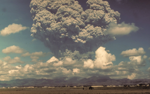 Photo of Pinatubo eruption