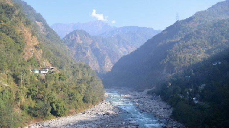 Photo of the Teesta River