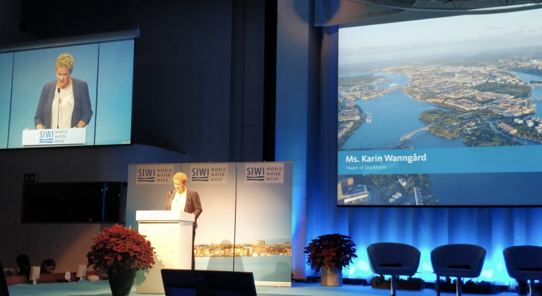 Photo of the opening of World Water Week
