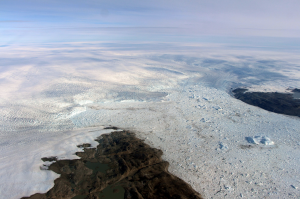 Photo of the Jakobhsavn Glacier