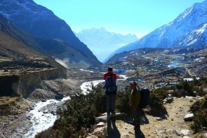 Khumbu valley Mt. Everest region Nepal on GlacierHub
