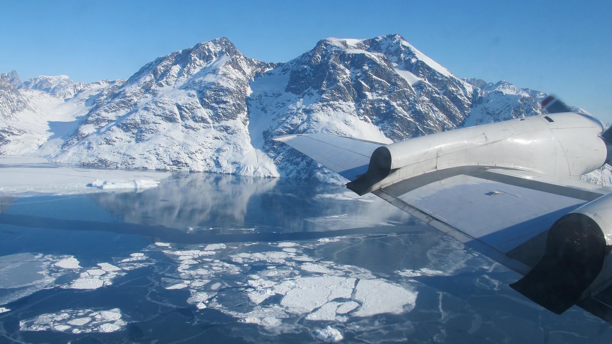 NASA Helheim Fjord on GlacierHub