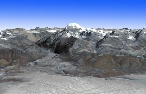 Mount Kailash on GlacierHub
