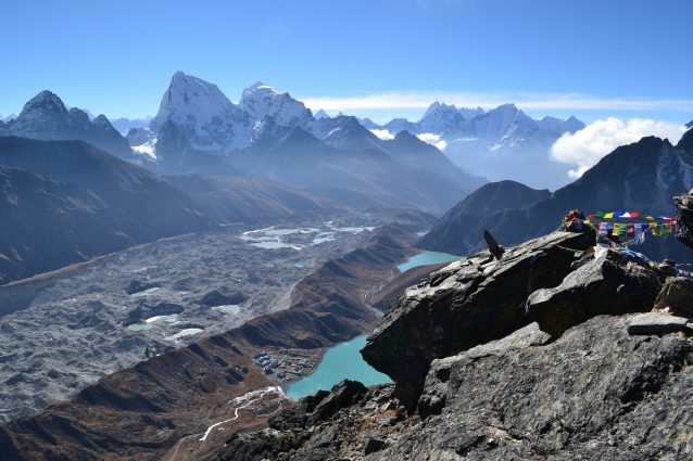 Gokyo Ri summit Gokyo Valley Nepalese Himalayas on GlacierHub