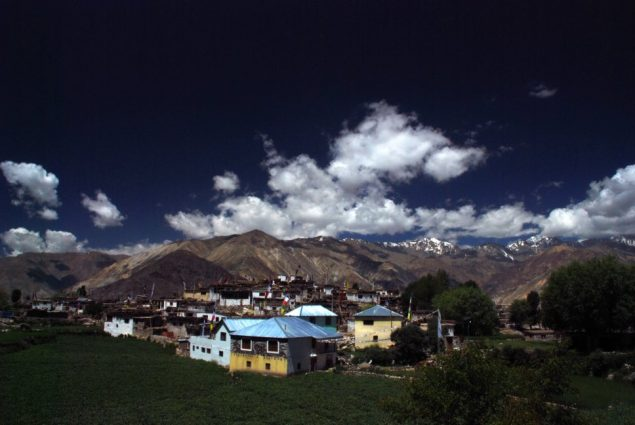 village in Indian Himalayas on GlacierHub