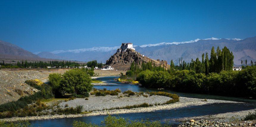 monastery Indus River Tibetan Plateau on GlacierHub