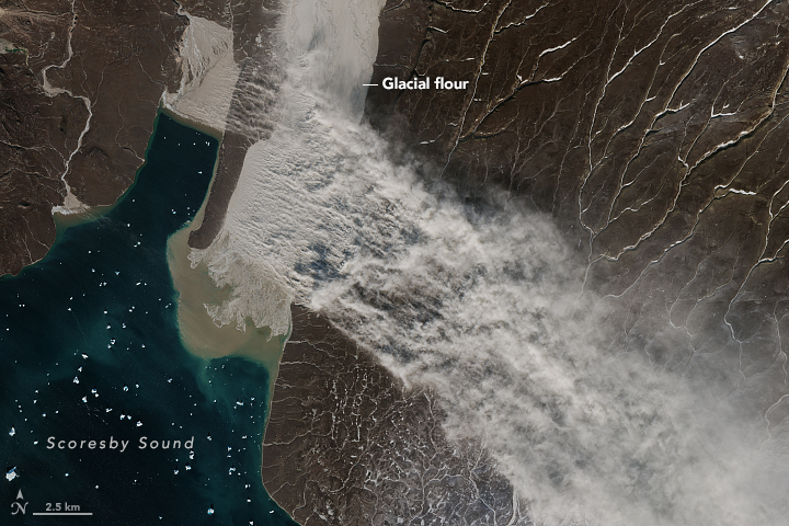 https://earthobservatory.nasa.gov/images/92891/glacier-flour-in-greenland-skies