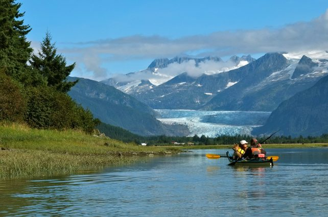 Tongass National Forest in Alaska is the largest national forest in the U.S. A controversial proposal would open 9.2 million acres of the Forest to logging.